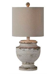Classic Weathered Table Lamp #lamp #tablelamp #weathered