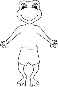 froggy coloring pages jonathan london - froggy gets dressed 2 4 repinned by pediastaff please
