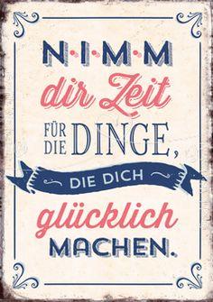 Nimm dir Zeit - Postkarten - Grafik Werkstatt Bielefeld
