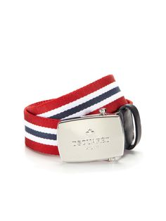 Webbed Stripe Belt by DSquared2 at Gilt