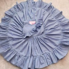 Material: Cotton Blend Color: As picture show Style: Sleeveless… Nice Dresses, Girls Dresses, Summer Dresses, Ruffle Dress, Striped Dress, Summer Stripes, Baby Girl Fashion, Buy Dress, Outfit Sets