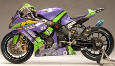 Racing Scale Models: Kawasaki ZX-10R Eva Racing 8 Hours Suzuka 2012 by Utage Factory House (Fujimi)