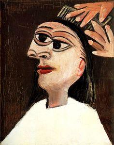 Pablo Picasso - The Hairdo, 1938