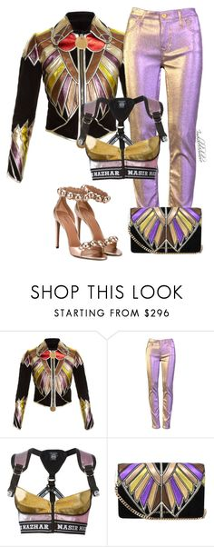 """""""Untitled #1387"""" by styledbyjovonxo ❤ liked on Polyvore featuring Givenchy, Nasir Mazhar and Alaïa"""
