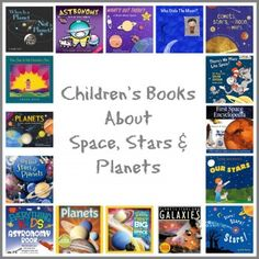 Children's Books About Space, Stars & Planets
