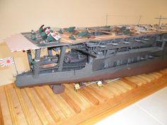 245 1:200 IJN KAGA Aircraft Carrier Paper Model PDF Format