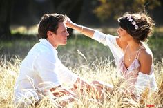 Lea Michele & Jonathan Groff <3  - they are so cute and awesome and talented!