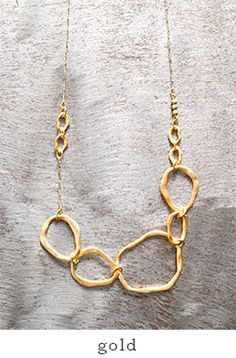 """Joli&Micare(ジョリー&ミカーレ)ネックレス""""5Ring long Necklace"""" fir0109"""