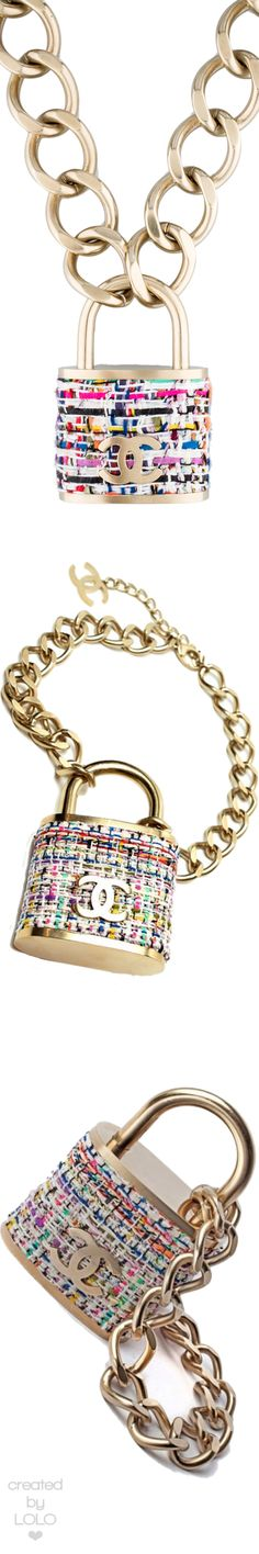 Chanel Padlock Necklace | LOLO❤︎