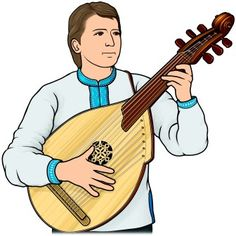 コブザ(kobza)。ウクライナのコブザ/ukrainian kobza