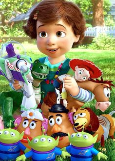 Bonnie with Andy's toys- don't pretend like you didn't cry the first time you saw this movie!
