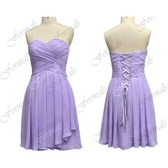 I m short prom dress chiffon