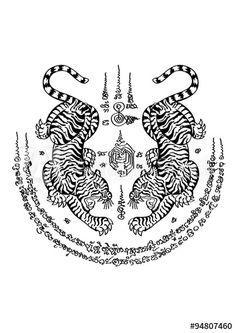 Ink Tattoo, Sak Yant Tattoo, Sleeve Tattoos, Muay Thai Tattoo, Khmer Tattoo, Thai Tattoo Meaning, Tattoos With Meaning, Thailand Tattoo, Bamboo Tattoo