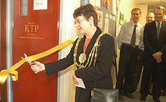 June 2003: The opening of the University of Brightons KTP Centre office with Councillor Jeanne Lepper, Mayor of Brighton and Hove City Council.  The Centre was re-launched after the TCS scheme changed it's name. The University of Brighton has one of the longest standing KTP Centres, and was established in June 1993. #40yearsofKTP
