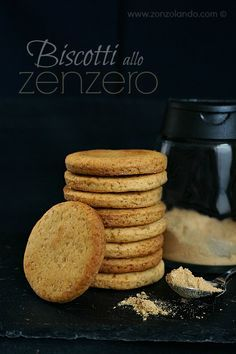 Biscotti allo zenzero ricetta english Ginger snaps biscuits cookies recipe