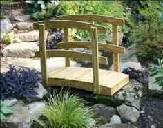 2 x 12 treated pine japanese garden foot bridge by fifthroom 119900