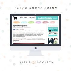 Black Sheep Bride is an online wedding publication connecting newly engaged couples with vendors products and inspiration that focus on socially conscious and ethical wedding consumerism.You will find ways to use your BIG DAY to make a BIG IMPACT in the local and global community surrounding you daily! Follow them here: @TheBlackSheepBride #aislesociety #aislesocietydebut #weddingblogsunite by aislesociety