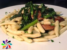 Cavatelli With Broccoli Rabe and Sausage