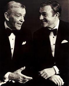 """genekellyalways: """" Fred Astaire & Gene Kelly (1976) """""""