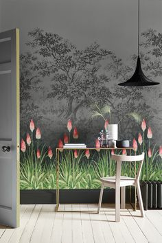 Little Greene | Biggelaar | Wallpaper | Interieur | Wonen | Behang | Interieur - Verf & Wand