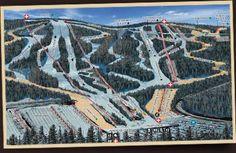 Blue Mountain skiing in the Poconos - FUN! yesterday jan 19 2013 greAT