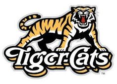 Hamilton Tiger-Cats Logos - Canadian Football League (CFL) - And this is why we don't take Canadian Football seriously. Winnipeg Blue Bombers, Canadian Football League, Logo Clipart, Football Predictions, Cat Logo, Great Logos, Illustration, Cats, Sports Logos