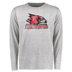 S.E. Missouri State Redhawks Big & Tall Classic Primary Long Sleeve T-Shirt - Ash - $39.99