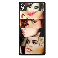 Demi Lovato Lips And Eye TATUM-3151 Sony Phonecase Cover For Xperia Z1, Xperia Z2, Xperia Z3, Xperia Z4, Xperia Z5