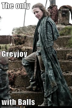 Yara Greyjoy - the only Greyjoy with balls - Game of Thrones