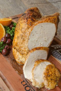 Air fried maple turkey breast