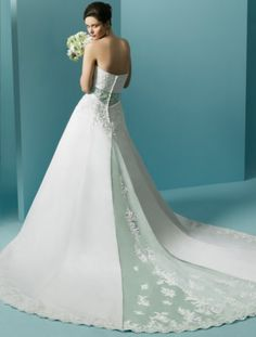 Mint green wedding dress – Dress ideas