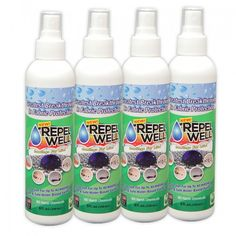 Repel Well Fabric Spray – Family 4-Pack (8oz)  Special Price Discount: More than 10% off Retail Pricing