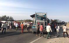 36 horas de bloqueo en Puente Madera.