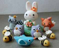 Baby Animals cake - this would be good for kids birthday cake or baby shower cake! Description from pinterest.com. I searched for this on bing.com/images
