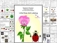 Scripts with Content for Intermediate ReadersLittle Rose And Ladybug ( Plants And Insects Interactions, Life Cycles, Photosynthesis, Parts Of A Plant, Metamorphosis, Basic Needs)This Readers Theater Package is a great resource to use in your classroom in many ways: Reading, Writing and/or Science Centers, small group activities, partners activities, or teacher table.This script will make reference to:Interactions between ladybugs and plants.Basic NeedsLife Cycles Of Plants And LadybugsParts…
