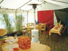 Terrassenstrahler, Gastrosonne, Propan, 8 kW Bild 1
