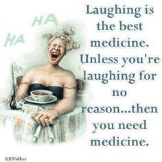 The best medicine.