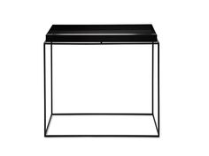 Black 60 x 60 Tray Table by HAY