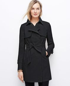 $228, Relaxed Trench by Ann Taylor. Sold by Ann Taylor. Click for more info: http://lookastic.com/women/shop_items/167279/redirect