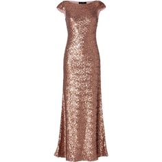 JENNY PACKHAM Sequined Gown in Seville Rose and other apparel, accessories and trends. Browse and shop 12 related looks.