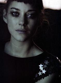 The Quiet Front - Home - Marion Cotillard by Peter Lindbergh