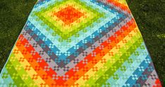 I'm entering my budding nine patch in the bloggers quilt festival. This was one of my happiest mistakes ever. It was *suppose* to be a blo...