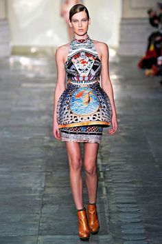 """regular"" retailers, please copy this mary katrantzou and the balmain i just pinned. #fashiondreams"
