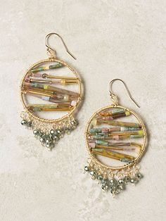 DIY Anthropologie Nisha Earrings