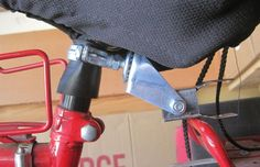 ❧ Bike Trailer Hitch (Instructables)