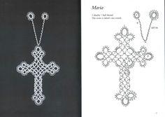 Gallery.ru / Фото #7 - Tatted Bookmarks~cross-shaped - mula