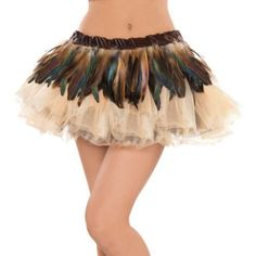 how great this would be for a woodland fairy or hunter over leggings...Owl Feather Belt - Party City