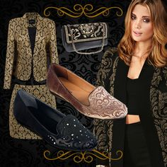 A moda inspirada na tendência do barroco é composta por tecidos ricos como o veludo, seda e brocado.
