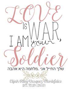 LOVE IS WAR. I AM YOUR SOLDIER -Elijah Riley Vasquez Montefalco JONAXX BOYS UNTIL TRILOGY Jonaxx Quotes, Qoutes, Until Trilogy, Jonaxx Boys, Lines Wallpaper, Broken Quotes, Wattpad, War, Bookmarks