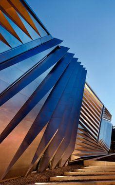 Eli and Edyth Broad Art Museum,Architecture by Zaha Hadid,Michigan State University,East Lansing Michigan,USA